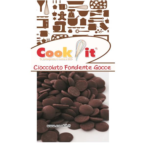 Cioccolato fondente in gocce 400gr