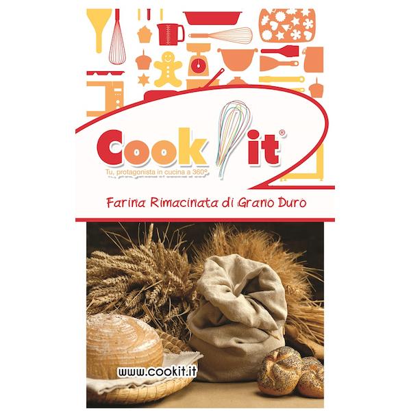 Farina Rimacinata di grano duro 5kg