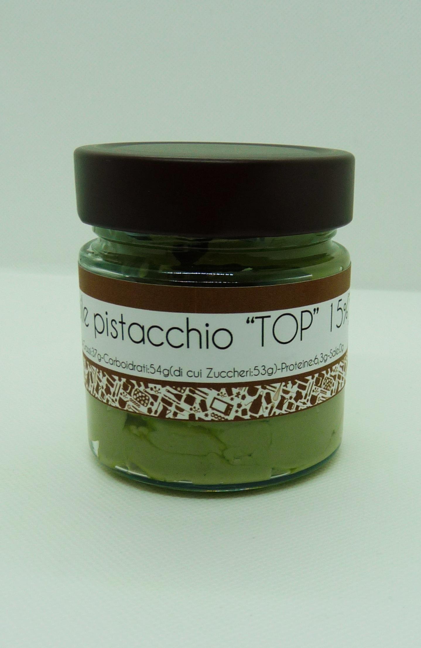 Crema spalmabile pistacchio TOP 250gr