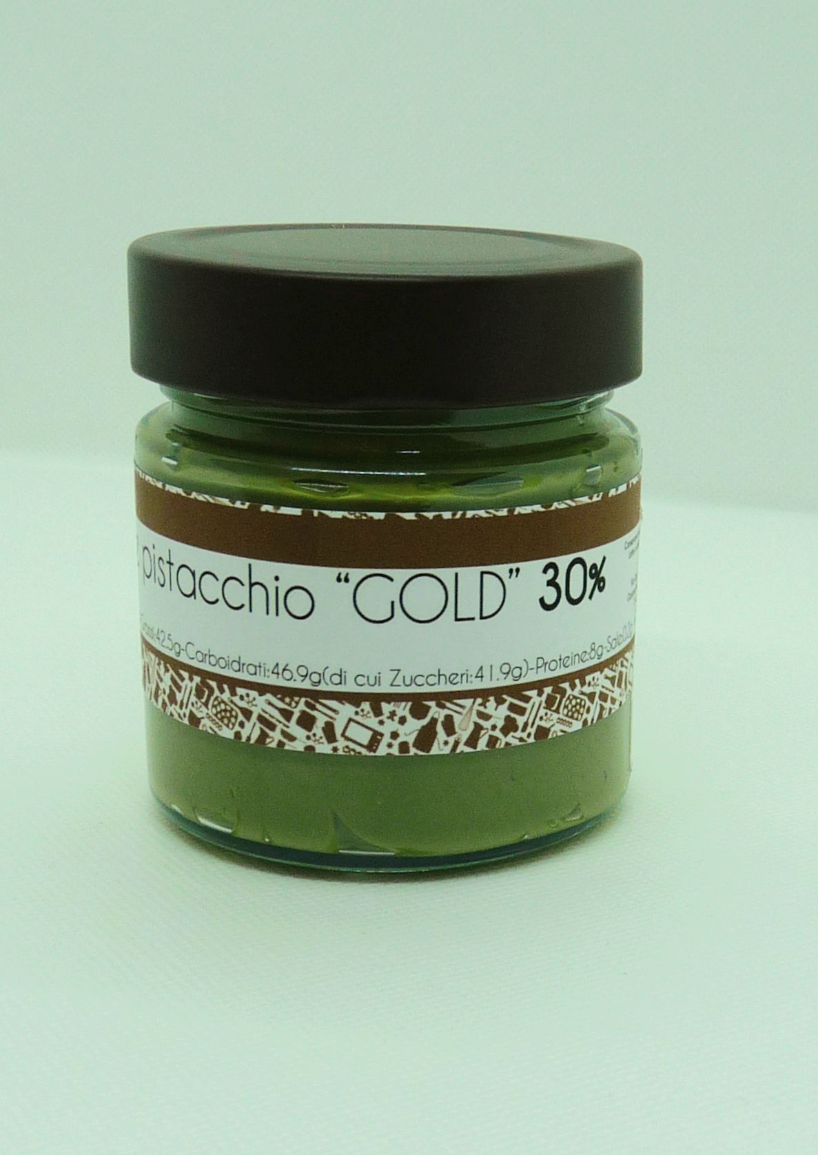 Crema spalmabile pistacchio GOLD 250gr