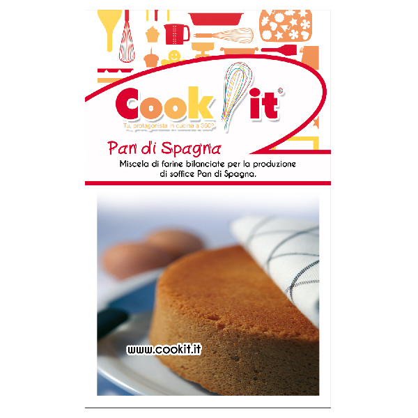 Mix di farine per pan di spagna 500gr