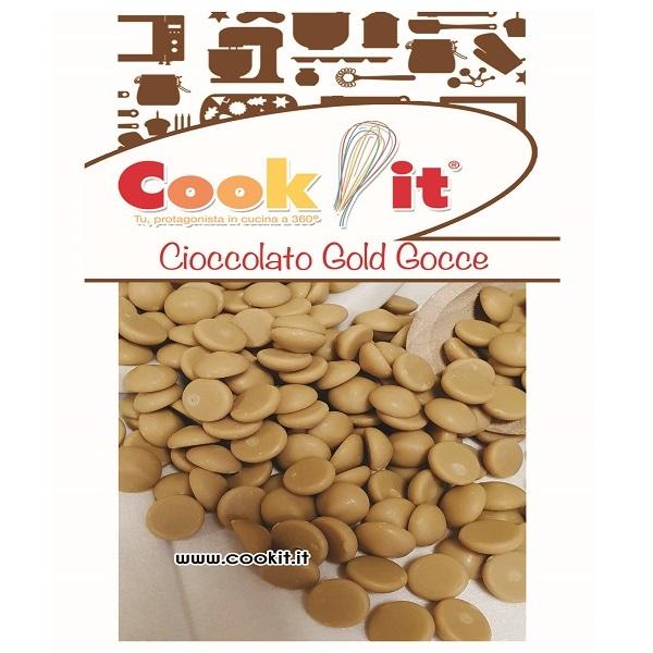 Cioccolato in gocce Gold 250gr