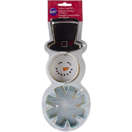 Set 3 tagliapasta Snow Man
