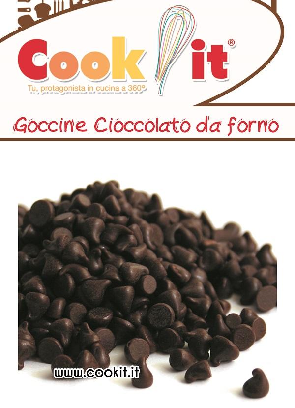 Goccine di cioccolato da forno 200gr