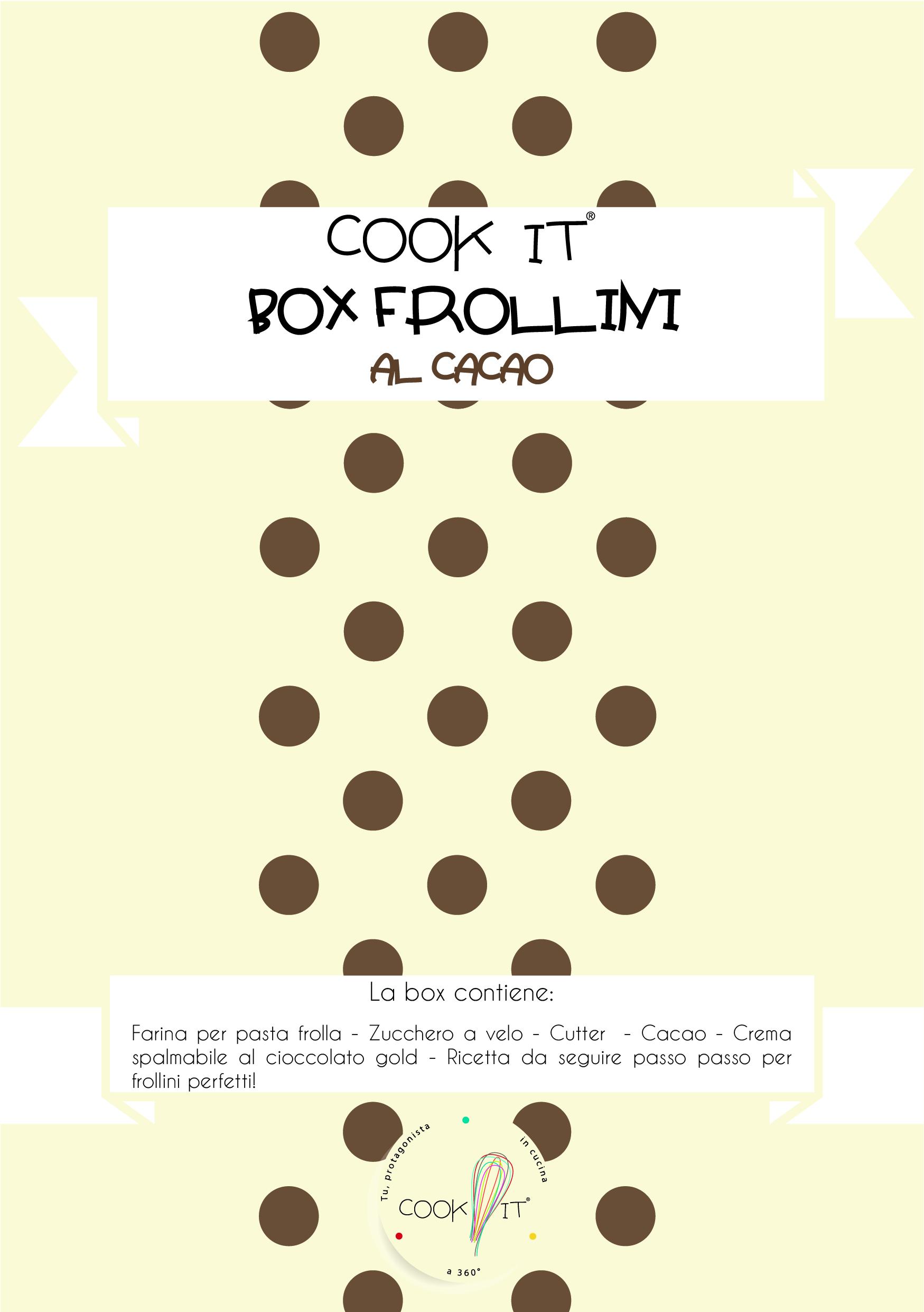 Box frollini al Cacao – cutter cucchiaino